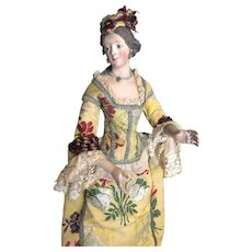 Neapolitan Creche Bourgeoise Lady