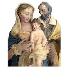 Neapolitan Holy Family Creche Figures