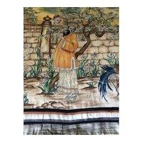 Chinese Silk Hanging Panel