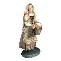 Neapolitan Creche Peasant Lady