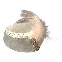 Antique Doll Toque Hat