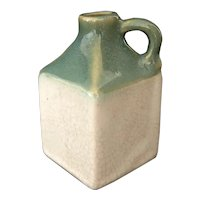 Vintage Fire Ceramic Glazed Jug/ Doll House Accessories
