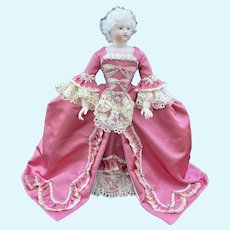 French fashion doll reproduction dress