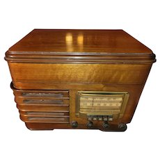 1941 Sears Silvertone Radio/Record Player Works!