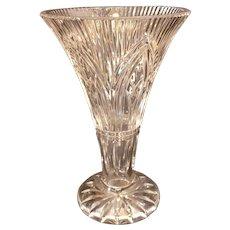 "Waterford Rock of Cashel trumpet vase. 10"" x 6.5"". Stunning"