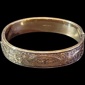 Dunn Bros etched bracelet