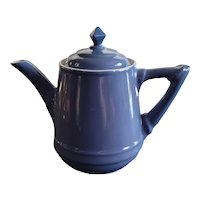 """Fantastic Hall Musical Teapot! Circa 1951. Plays Tea for Two and works! Beautiful condition. 9"""" x 9"""""""