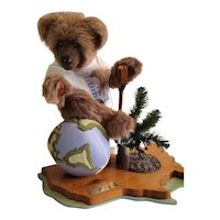 """Joanne C Mitchell Limited Paws For America Bear. 8/50 hand signed. 16""""x18"""""""