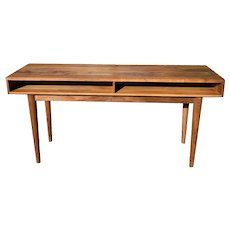 Danish Modern Teakwood Desk/Console/Writing Table