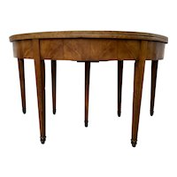 Biedermeier Console Table/ Folding Breakfast Table