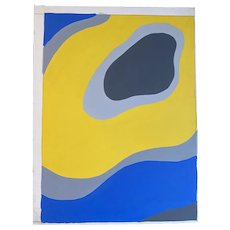 """American Abstract Painting, by Achi Sullo, """"Atoll"""""""