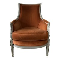 French Bergere in Louis XVI Style