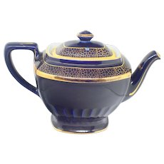 Hall Cobalt Blue Teapot