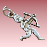 Sterling Cupid Charm