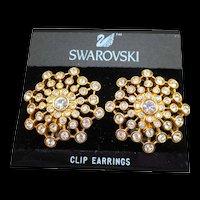 Swarovski Runway Earrings
