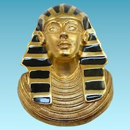 Erwin Pearl Egyptian Pharaoh Pin/Pendant