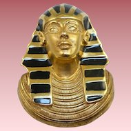 Erwin Pearl Egyptian Pharaoh Pin/Pendant