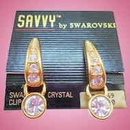 Swarovski Savvy Earrings - MOC