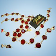 Swarovski Savvy Red Necklace