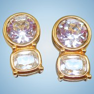 Swarovski Rhinestone Earrings