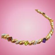 Vintage Gemstone Bracelet