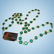 Swarovski Savvy Green Necklace - MWT
