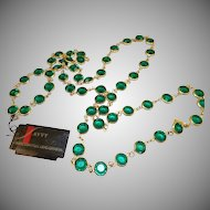 Swarovski Savvy Green Necklace - MWT