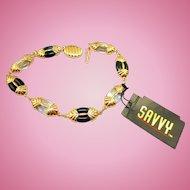 NOS Swarovski Savvy Bracelet