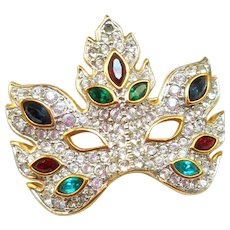 Swarovski Mask Pins