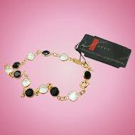 NOS Swarovski Savvy Black Crystal Bracelet - MWT