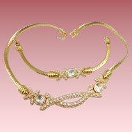 Swarovski Necklace Bracelet Set