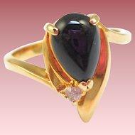 Vintage Black Ring