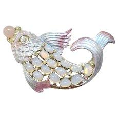 Graziano Koi Fish Pin