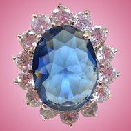 Kenneth J Lane Princess Diana Ring