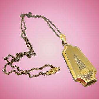 Edwardian Locket Necklace