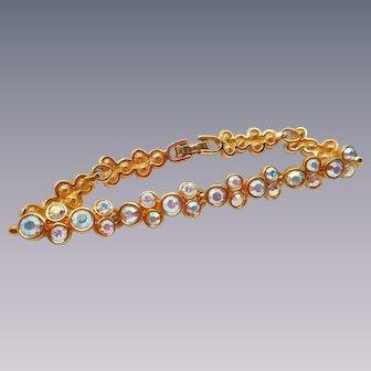 Swarovski Aurora Borealis Rhinestone Bracelet
