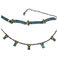 Vintage GIVENCHY Necklace Bracelet Set