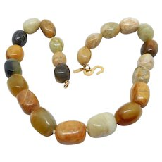 Kenneth J Lane Natural Stones Necklace