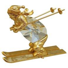 Swarovski Trimlite Champion Skier Figurine