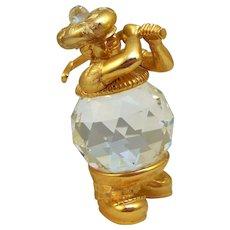 9d4bfcdfaed2 Vintage Swarovski Crystal Dog   Robbia Antiques
