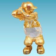 Swarovski Trimlite Baseball Figurine