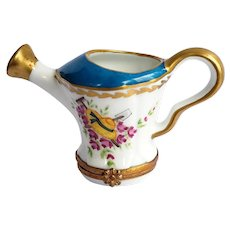 Limoges Roses Watering Can Box