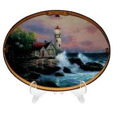 Vintage Thomas Kinkade Hope's Cottage Plate
