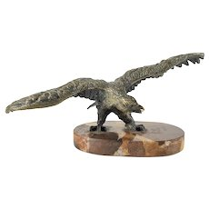 Antique Americana or Grand Tour Bronze Eagle
