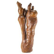 Naturalistic Cypress Rootwood Knee Sculpture