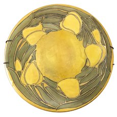 French Art Nouveau Limoges Pottery Decorative Plate