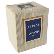 Vintage Unopened NOS Arpege Lanvin Paris Perfume Bottle