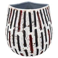 Vintage Mid Century Modern Italian Art Pottery Vase