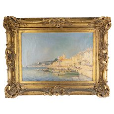 French Impressionist Oil Painting on Canvas by James Wilhems
