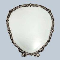 Portuguese .833 Silver Spanish Revival Framed Mirror
